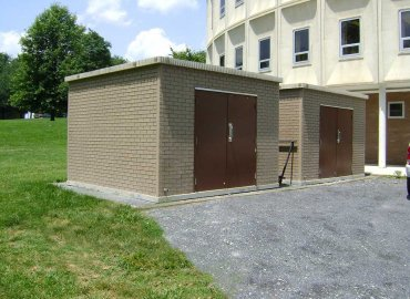 Precast Concrete Storage Building